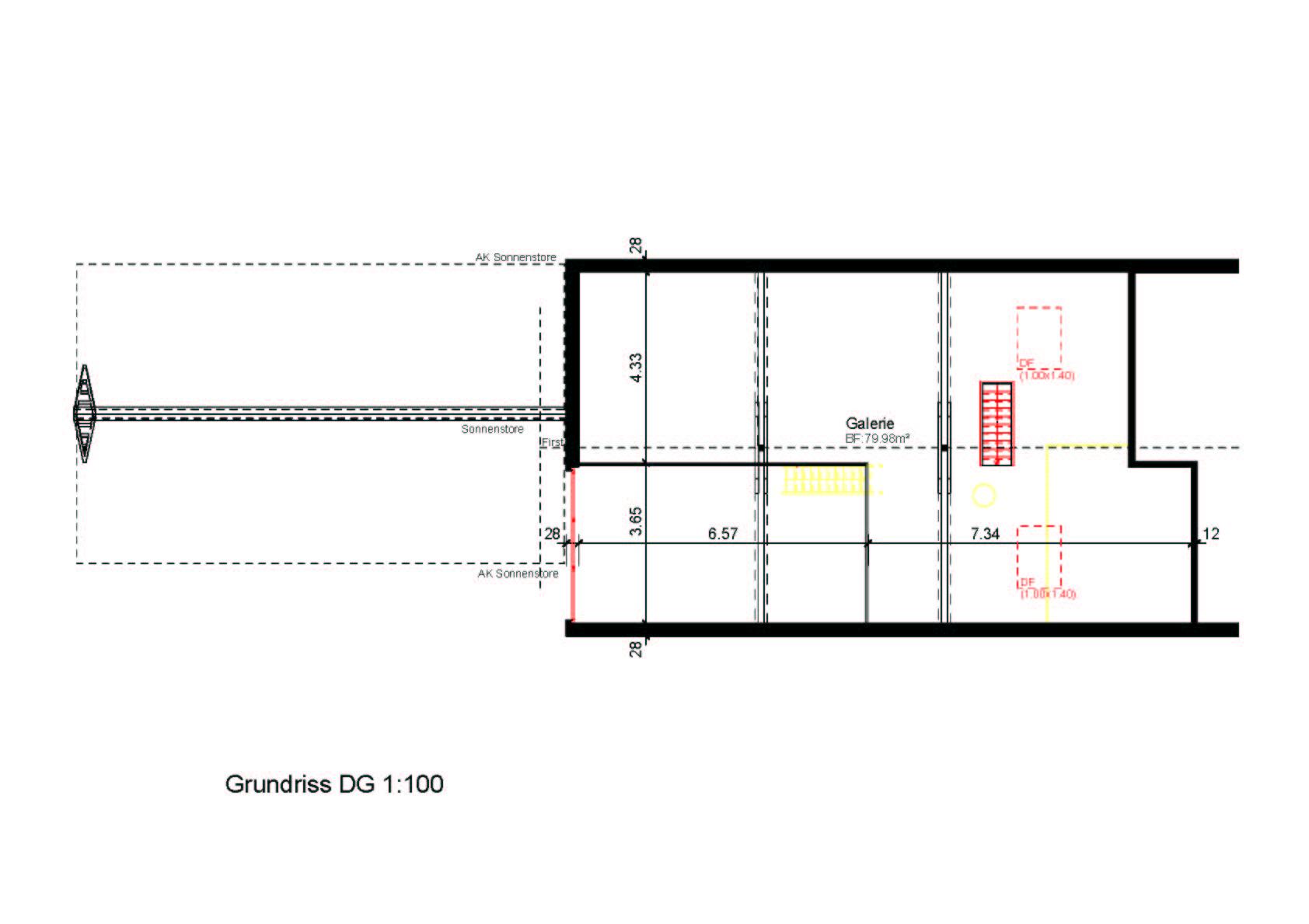 Pläne Clubhaus Umbau