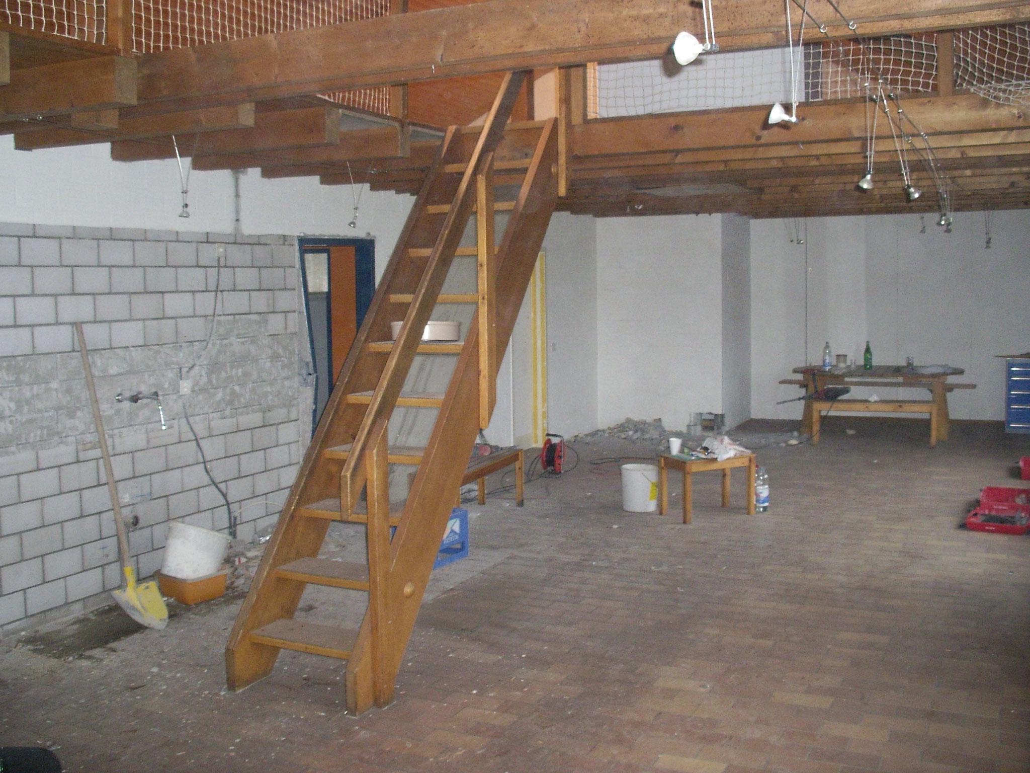 Umbau 2008