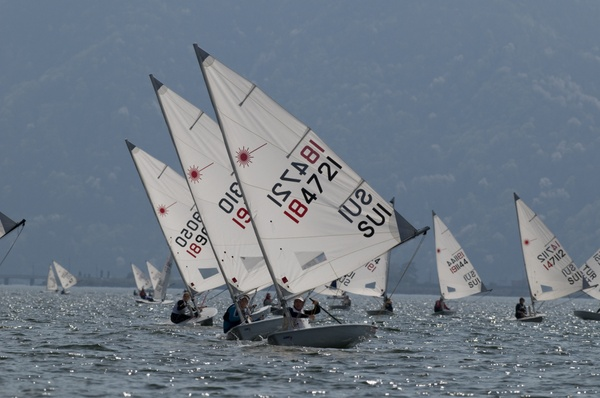 Laser Europacup in Lugano