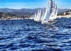 IWR 420 Winter-Regatta in Imperia ITA