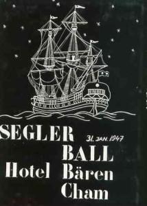 Seglerball in Cham